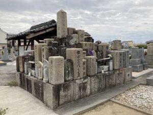 北宮門徒墓地(羽曳野市)のお墓