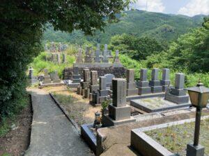 下河内・弘川墓地(河南町)のお墓