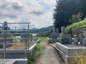 中山・車作墓地のお墓