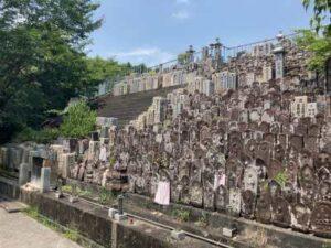 日野共同墓地(河内長野市)の墓地