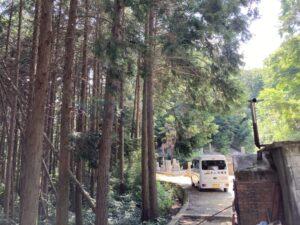 若林墓地(千早赤阪村)で戒名彫刻