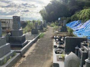 後屋墓地(太子町)のお墓