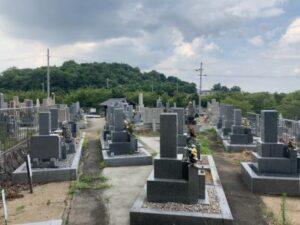 留所山霊園(柏原市)のお墓