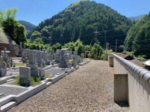 新神納墓地(河内長野市)のお墓